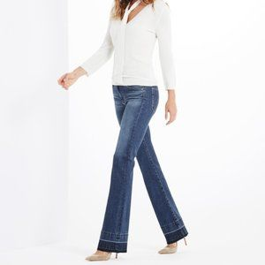 AG The Angel Slim Fit Boot Cut Frayed Jeans 28
